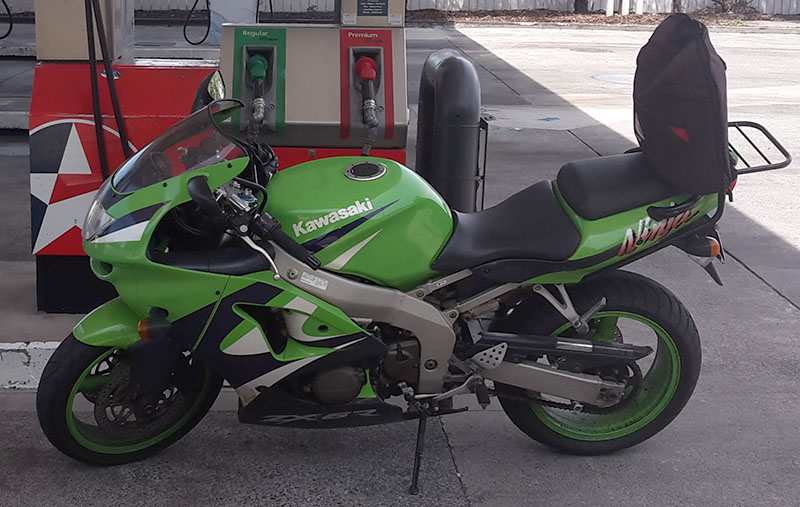 My ZX-6R Motorcycle